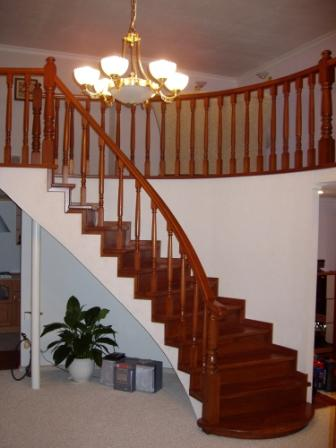 Фото монтаж лестницы своими руками
